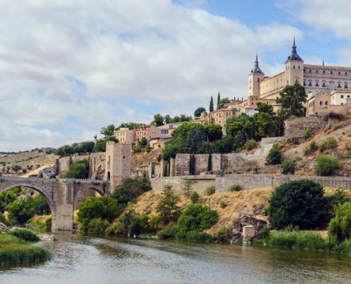 Mittelalterliche Stadt Toledo